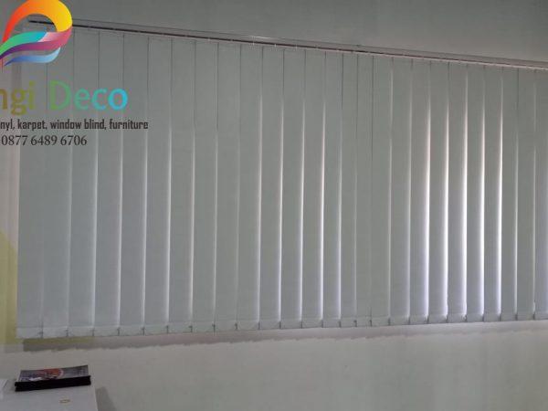 Pemasangan Vertical Blinds di Sleman Yogyakarta
