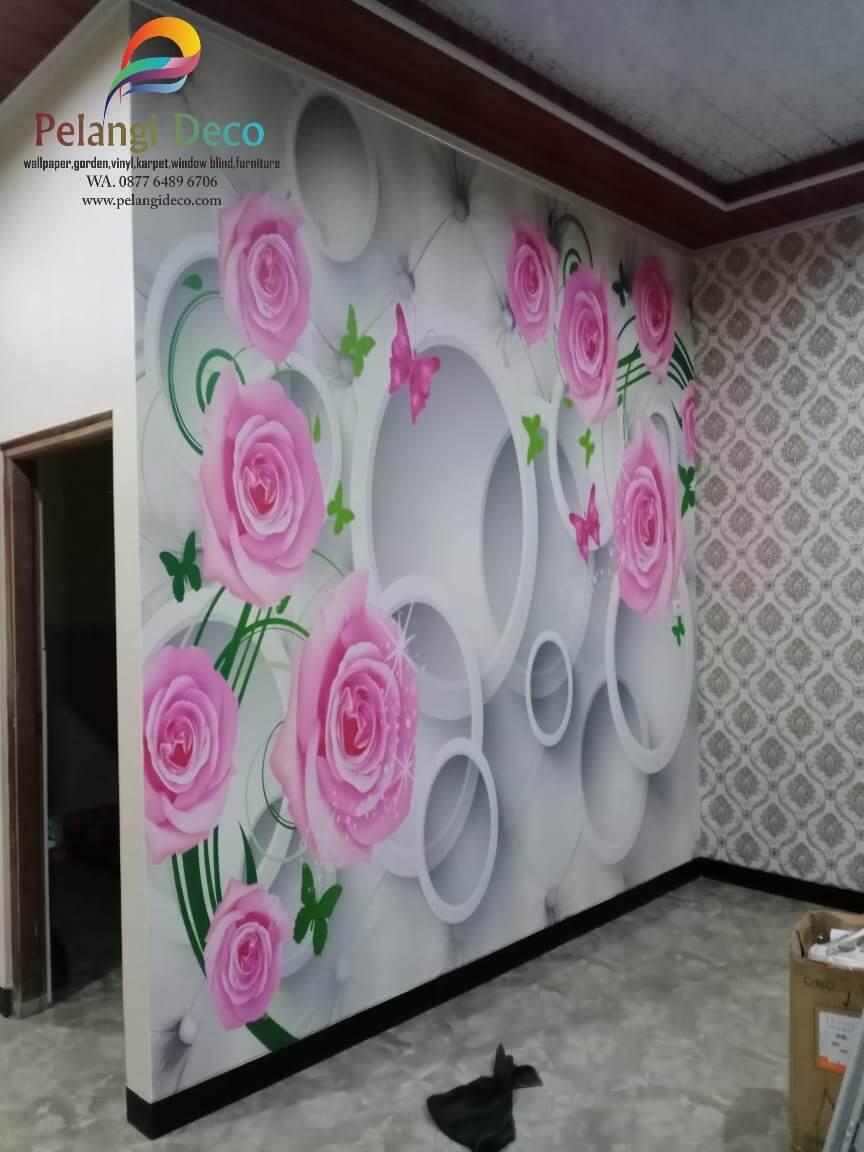 Pemasangan Wallpaper di Turi Yogyakarta